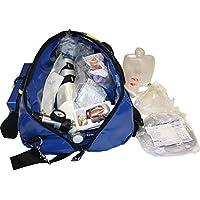 Sauerstofftasche aus Plane mit 2 Liter Sauerstoffflasche und gegelbarem Druckminderer 0-25 l/min preisvergleich bei billige-tabletten.eu