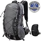 VENTCY 40L Hiking Backpack Waterproof Hiking Rucksack Outdoor Sports Mountaineering Camping Trekking Rucksack