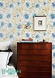 Papel pintado, diseño de hojas de monstera, extraíble, hojas de papel pintado, adhesivo decorativo para pared, 53 Cm wide by 121 Cm Tall Test