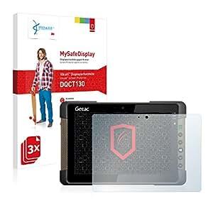 3x Vikuiti MySafeDisplay Film(s) de protection d'écran DQCT130 de 3M pour Getac T800