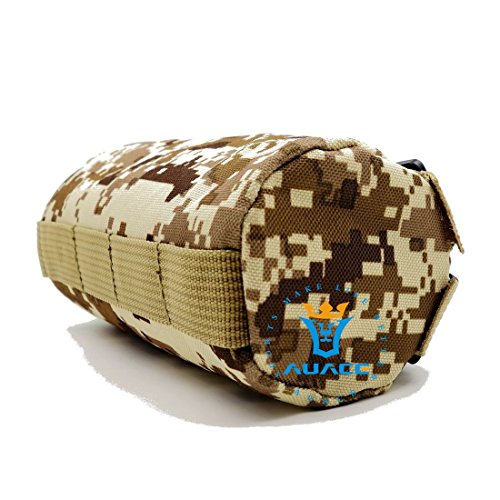 Multifunktions Survival Gear Tactical Beutel MOLLE Tasche Armee Wasser Flasche Tasche, Outdoor Camping Tragbare Travel Bags öffnen Top Wasser Flasche Tasche DDC