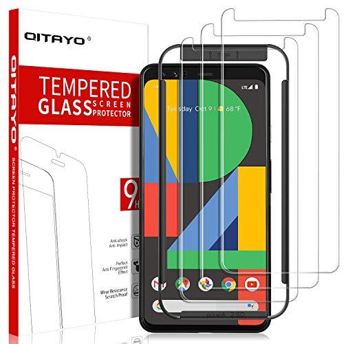 QITAYO Panzerglas Schutzfolie für Google Pixel 4