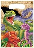 8 Partytüten * DINOSAURIER * für Kindergeburtstag // 08-5012 // Kinder Geburtstag Party Dino T-Rex Dinos Saurier Geschenktüten Mitgebseltüten Mitgebsel Tüten