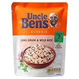 Uncle Ben's Classici Grani Lunghi E Riso Selvatico (250g) (Confezione da 2)