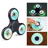 Fidget Spinner Led Quimat Lichter Spinner Dreher EDC Toys Bestes Geschenk für Kinder Erwachsene Hilft beim Konzentrieren