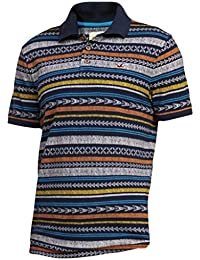 Hollister - Homme - Patterned Tipped Pique Polo Top Shirt - Manche Courte