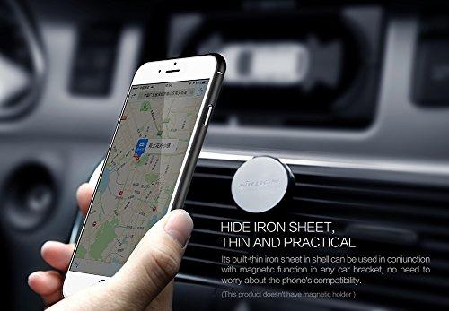 Coque iPhone 6/iPhone 6S, NillKin®[Fibre de Carbone][Compatible avec Support Voiture Magnétique] Fibre Synthétique Premium Bumper Coque Arrière pour iPhone 6S/iPhone 6 Noir Carbon Fiber Case