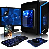 VIBOX Killstreak SA4-41 Komplett-PC Paket Gaming PC - 3,9GHz AMD A4 Dual-Core APU, Desktop...