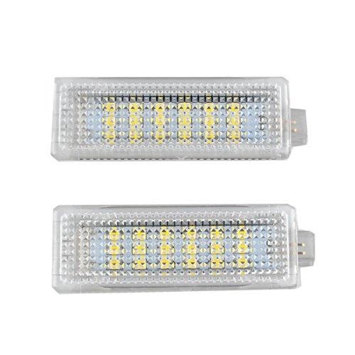RunQiao 10W Auto Einstiegsbeleuchtung LED Tür Lampe Türbeleuchtung 7000K Xenon Weiß für E60 E63 E90 E70 R50