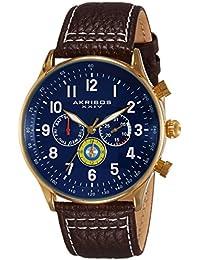 Akribos XXIV Explorer Analog Blue Dial Men's Watch - AK751BR