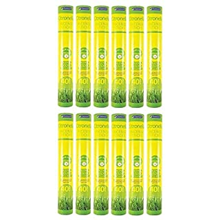Absab Ltd 12 x Chatsworth Citronella Incense Sticks 40 pack For outdoor use Holder Included