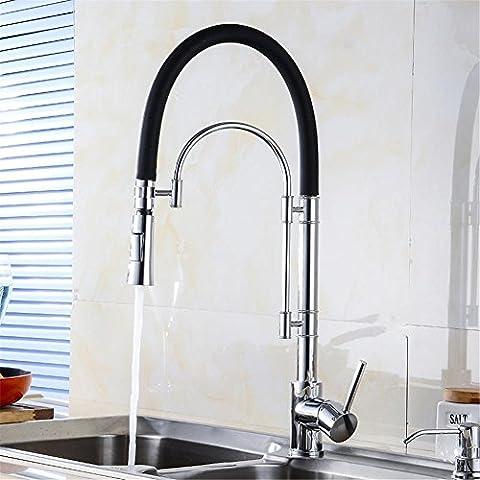 Modylee Moderno lusso cucina rubinetto Torneira Cozinha Pull Down girevole Spray Chrome acqua rubinetto bacino lavello rubinetto Rubinetti MH-4823 ,