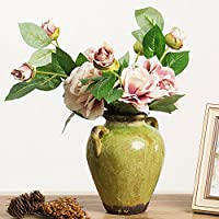 decoraciones para el hogar al aire libre/ salón Jarrón vintage/Ornamentos florales decorativos técnicas