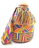 COLOMBIAN STYLE Bolsos Colombianos Artesanales de diseño unico, mochila Wayuu tanto para mujer como para hombre.
