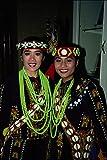 538078 Women Of Taiwan's Yami Tribe Taiwan A4 Photo Poster