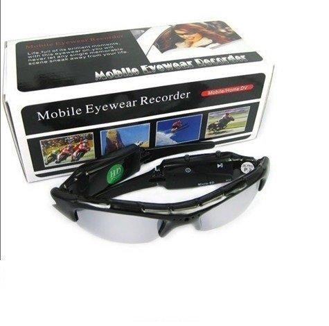 Occhiali video spia da sole con videocamera 1280x720 hd nascosta e fotocamera spy