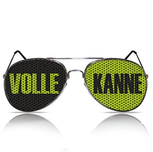 mygafas Partybrille Spassbrille Partygag Partyzubehör Sonnenbrille mit Motiv Rotze Voll weiß blau Bayern Farben (Nerd schwarz) ijdpIFZt