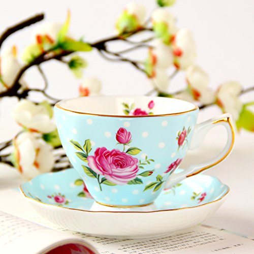 Stile europeo bone China caffè tazza set/ Tea
