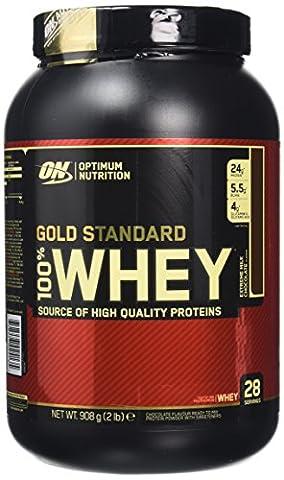 Optimum Nutrition Gold Standard 100% Whey Protein Powder - 908 g, Milk Chocolate