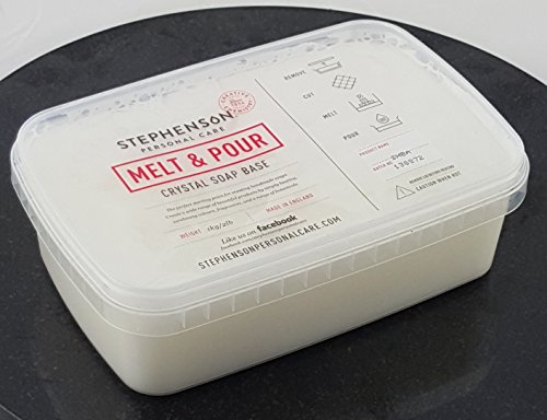Melt and Pour Soap Base Shea Butter 1kg-5kg SLS FREE (1kg)
