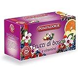 Pompadour - Infuso Mix Frutti Di Bosco, Aromatizzato Con Vitamine - 60 G