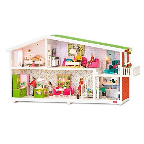Lundby Smaland Puppenhaus mit Beleuchtung