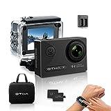 OTHA Action Kamera Sports Cam 4K Wi-Fi Ultra FHD 16MP Nachtsicht Helmkamera 170° Weitwinkel SONY...