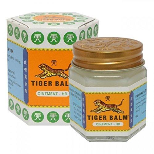 Balsamo di Tigre Bianco Originale Tiger Balm - per mal di testa, dolori muscolari, infiammazioni,...