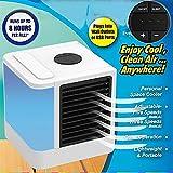 Trymway Refrigerador de espacio para aire con indicador LED para oficina, hogar, viajes, exteriores,...