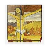 Wandtattoo Sony Playstation 4von zu Hause Skinkin–Design Original: Christus gelb von Paul Gauguin