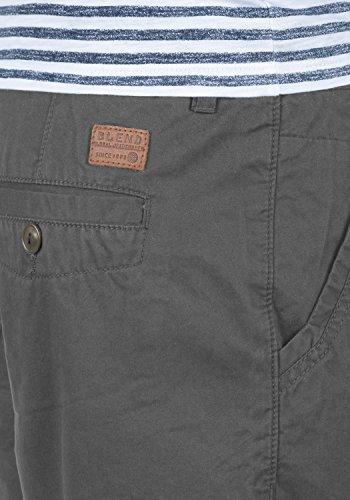 BLEND Kankuro Herren Shorts kurze Hose Bermuda-Shorts aus 100% Baumwolle Granite (70147)
