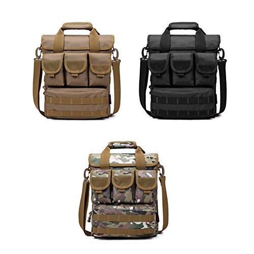 Fastar Outdoor Sport Casual Schultertasche Handtaschen Herren Messenger Cross Body Bag Casual Outdoor Camping Wandern Trekking Tasche E