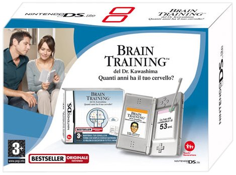 NINTENDO DS LITE BRAIN TRAINING ITA VERSION