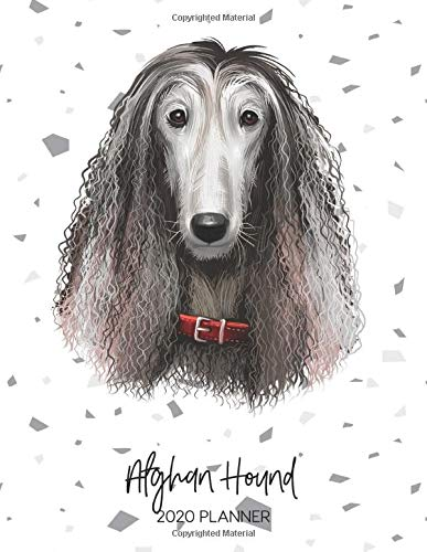 Afghan Hound 2020 Planner: Dated Weekly Diary With To Do Notes & Dog Quotes (Awesome Calendar Planners for Pup Owners…