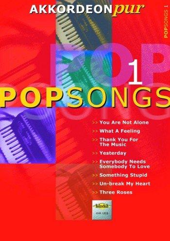 Popsongs Band 1: für Akkordeon