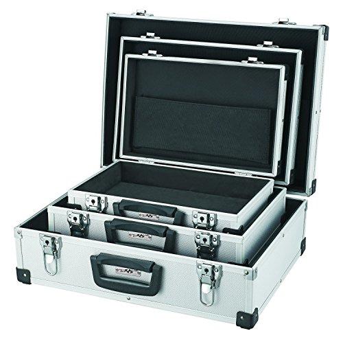 TrendLine Alurahmen - Werkzeugkoffer 3er Set abschließbar Alukoffer Koffer