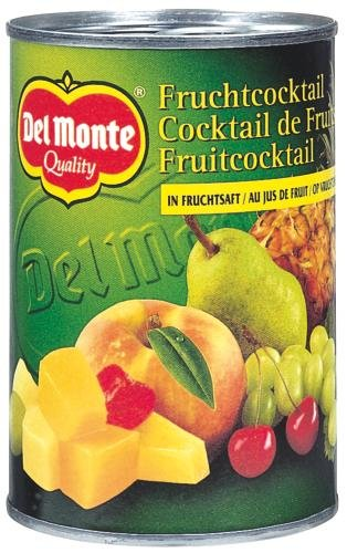 Del Monte Fruchtcocktail in Saft, 12er Pack (12 x 425 ml Dose)