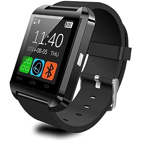 Vovotrade U8 Bluetooth inteligente Reloj de pulsera deportivo podómetro saludable para Samsung