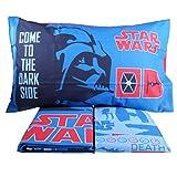 Star Wars Bettwäsche komplett Set Darth Vader Design Leuchtet in the Dark