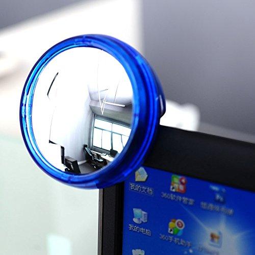 Ocamo Creative Fashion Computer-Rückspiegel, rund, Privatsphäre geschützt (Computer-monitor-rückspiegel)