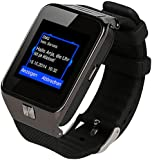 "simvalley MOBILE 1,5""-Handy-Uhr/Smartwatch PW-430.mp, BT 3.0, Kamera"