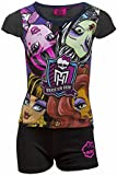 Girls Monster High Shorty Pyjama Age 6,8,10,12 Years