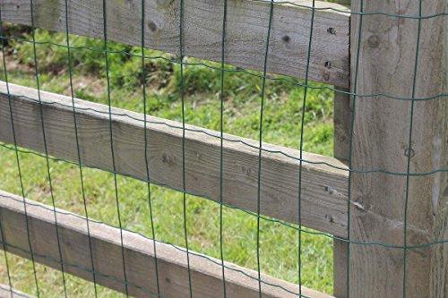 Recinzioni Da Giardino In Pvc : Rete da recinzione verde in cavo di acciaio rivestito in pvc