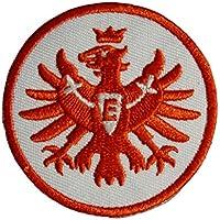 Unbekannt Eintracht Frankfurt Aufnäher, Patch Logo rot 8 cm SGE - Plus Lesezeichen I Love Frankfurt