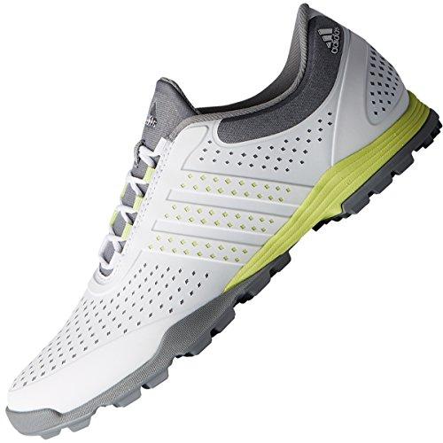 adidas W Adipure Sport, Scarpe da Golf Donna, Bianco (White/Grey DA9134), 41 1/3 EU