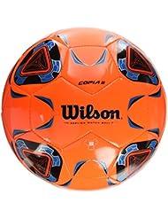 Wilson Ballon de Football Extérieur et intérieur, Surface rugueuse, Sol synthétique, Taille 9, À partir de 14 ans, COPIA II, Orange/Bleu, WTE9282XB05