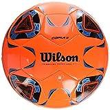 WILSON Copia II Fußball, Orange/Blue, OFFICIAL