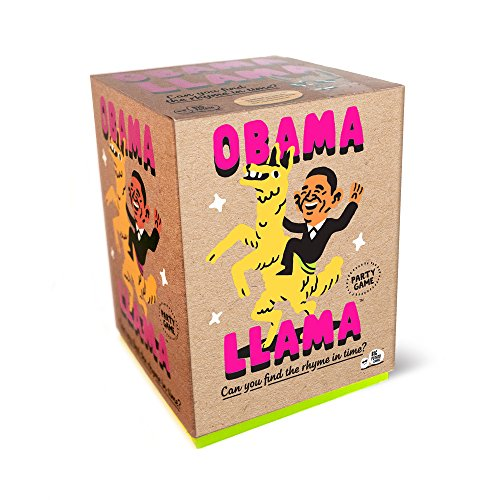 Big Potato Obama Llama: The Celebrity Rhyming Board Game