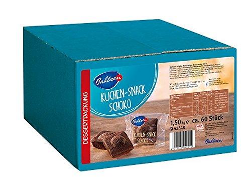 Bahlsen Kuchen Snack Schoko, 1er Pack (1x 1.5 kg)
