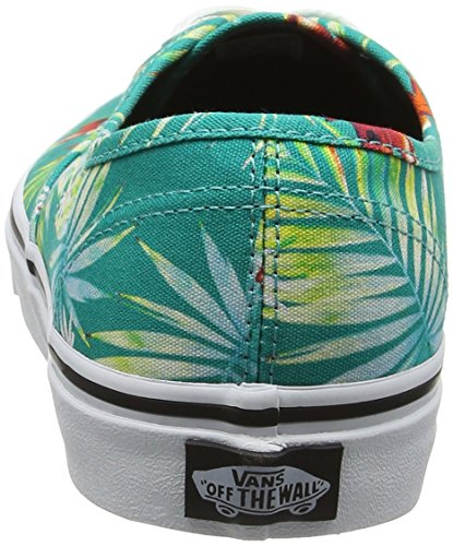 Vans UA Authentic, Scarpe da Ginnastica Basse Uomo Turchese (Decay Palms)